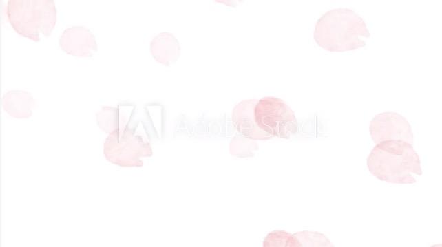 桜の花びらが散る動画