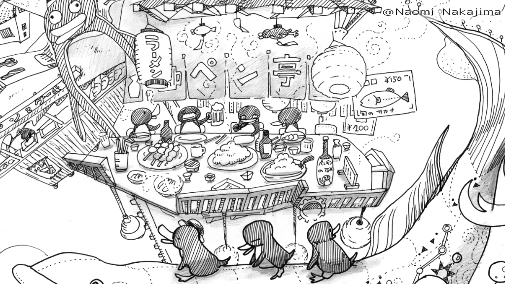 ペンギンの居酒屋