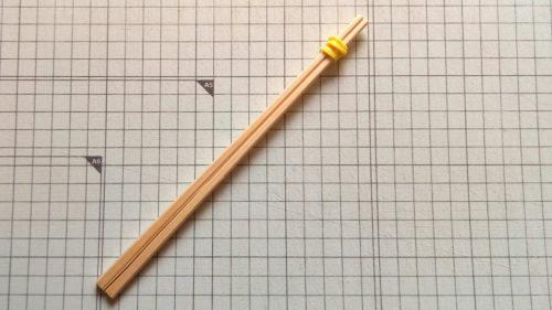 割り箸マジックハンド作り方1