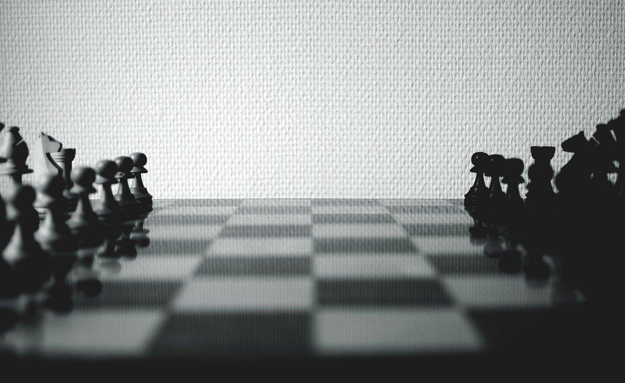 チェスで勝負